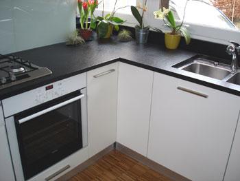marbre noir galaxy beautiful plan travail cuisine en pour. Black Bedroom Furniture Sets. Home Design Ideas