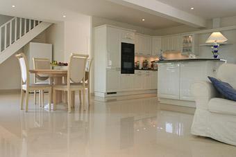 Gres cerame xxl avec la marbrerie des yvelines - Gres cerame plan de travail cuisine ...