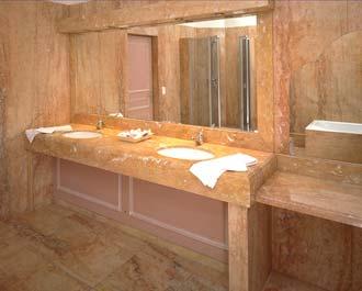 salle de bains avec la marbrerie des yvelines. Black Bedroom Furniture Sets. Home Design Ideas